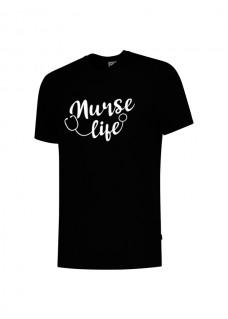 T-Shirt Nurse Life Black