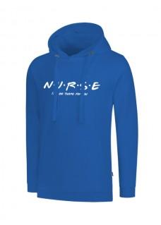 Hoodie Nurse For You Blue