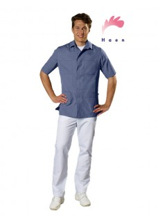 Haen Men's Nurse Uniform Karel Blue