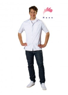 Haen Men's Nurse Uniform Karel White