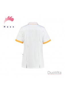 Haen Nurse Uniform Fijke White/Teredo Sun