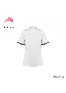 Haen Nurse Uniform Fijke White/Charcoal