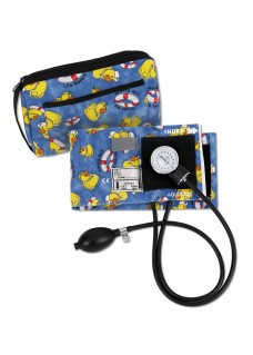 Premium Aneroid Sphygmomanometer with Carry Case Yellow Duck