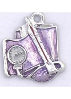 Purple Sphygmomanometer Pendant