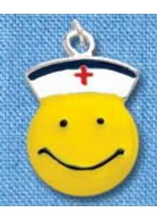 Smiley Nurse Pendant