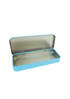 Metal Stationary Case Blue Avocados