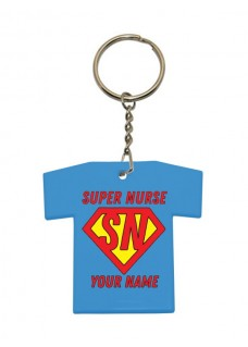 Key Chain T-Shirt Super Nurse