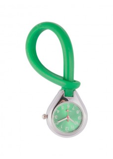 Silicone Hang Watch Green