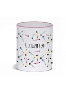 Mug Syringues Pink