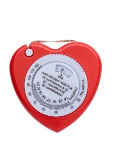 BMI Measurement Tape Heart