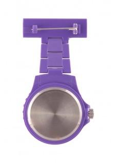 Neon Nurses Fob Watch Purple