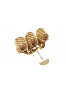 Pocket Penclip Triple Gold
