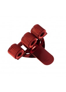 Pocket Penclip Triple Red