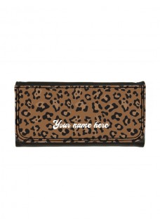 Ladies Luxe Wallet Leopard