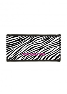 Ladies Luxe Wallet Zebra
