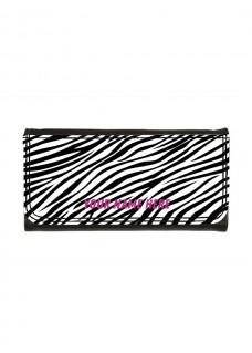 Ladies Luxe Wallet Zebra