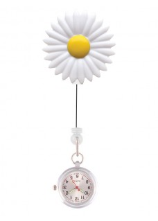 Retracteze Fob Watch Daisy
