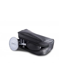 Sphygmomanometer One-Handed with Carry Case Black Silver