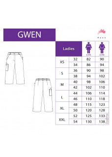 Haen Women's Nursing Pants Gwen