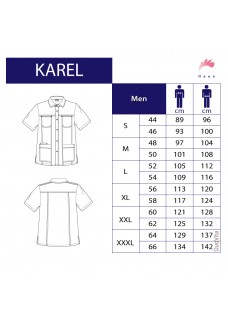 Haen Men's Nurse Uniform Karel