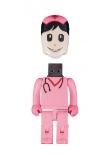 USB Flash Drive Memory Stick Nurse Pink