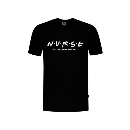 T-Shirt Nurse For You Black