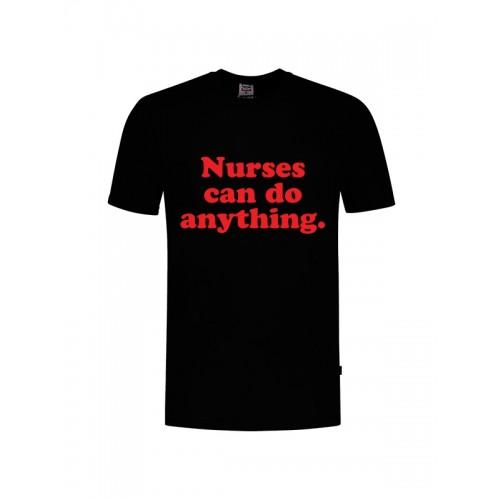 T-Shirt Nurses Can Do Anything Black