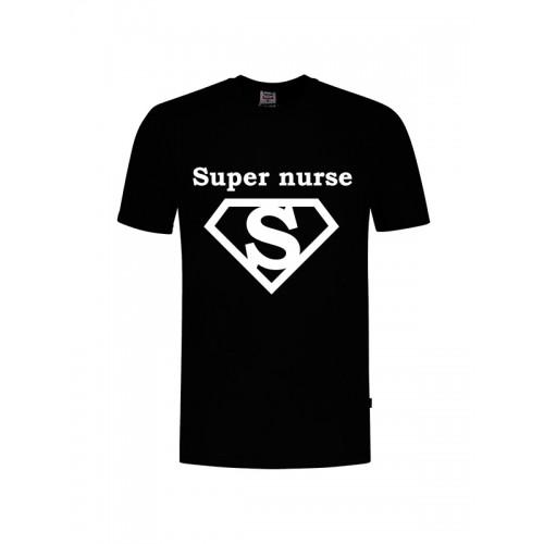 T-Shirt Super Nurse 1 Black