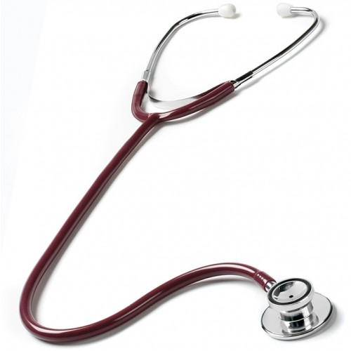 Dual Head Stethoscope Burgundy