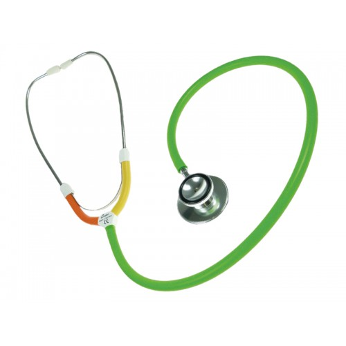 CBC Dual Head Stethoscope Multi Green