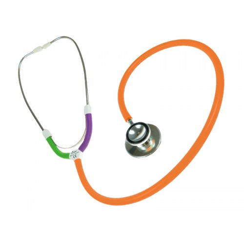 CBC Dual Head Stethoscope Multi Orange