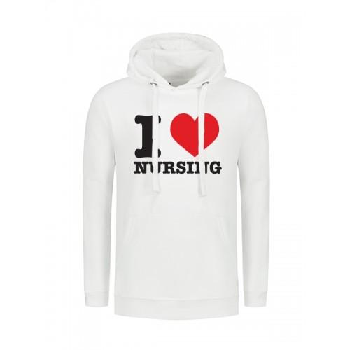 Hoodyi Love Nursing White