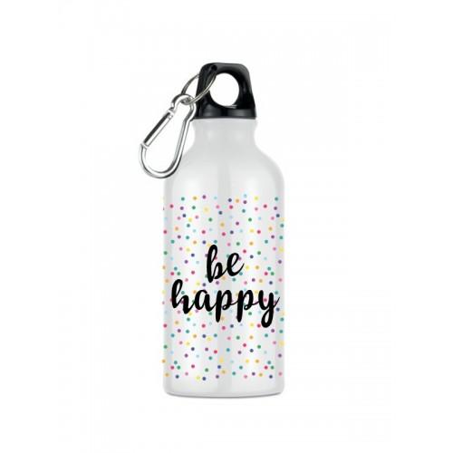 Sport Drink Bottle Be Happy