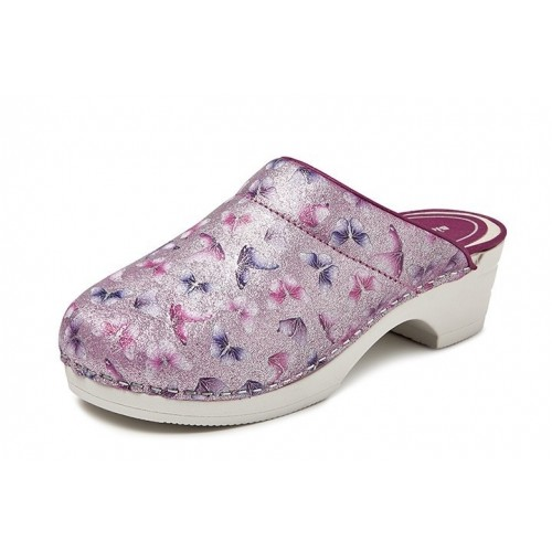 LAST CHANCE: size 40 Bighorn Butterfly Pink PU