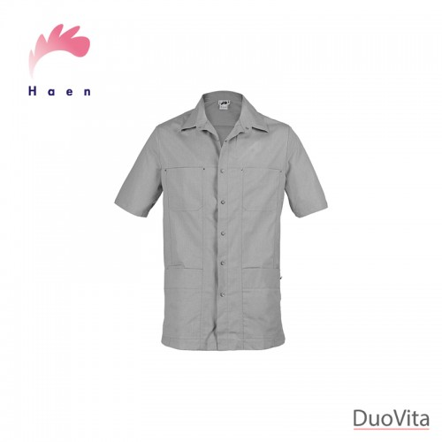 Haen Men's Nurse Uniform Karel Grey