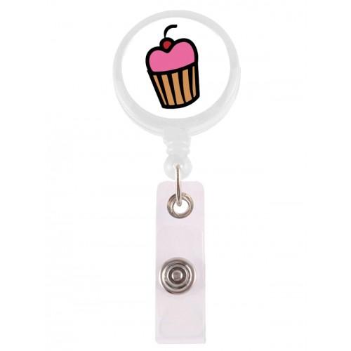 Retracteze ID Holder Cupcake