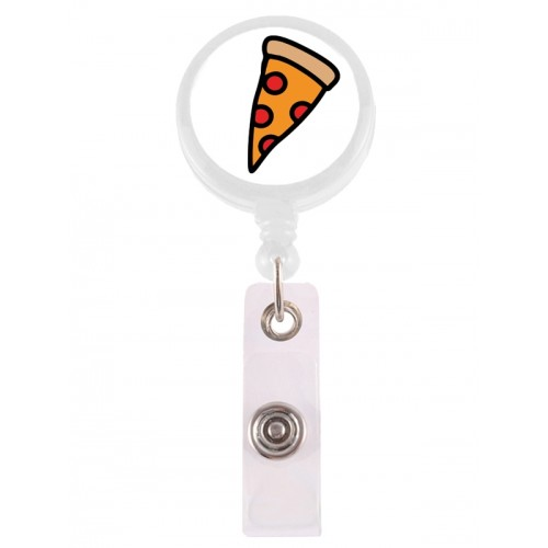 Retracteze ID Holder Pizza