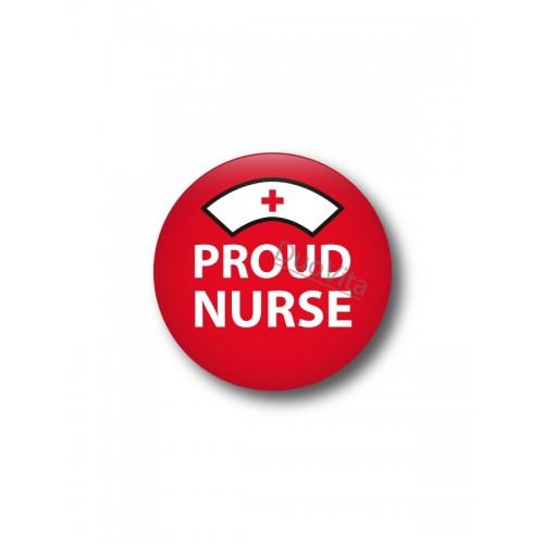 Button Proud Nurse