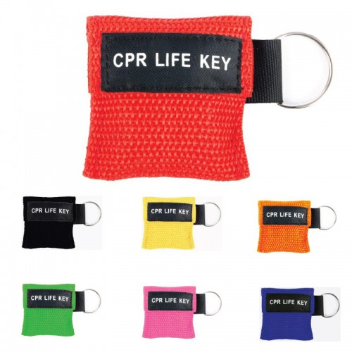CPR Mask Key Ring