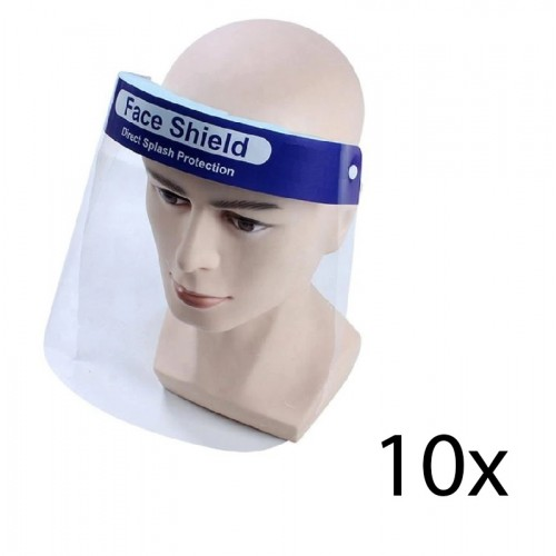 Hospitrix Face Shield Pack 10x