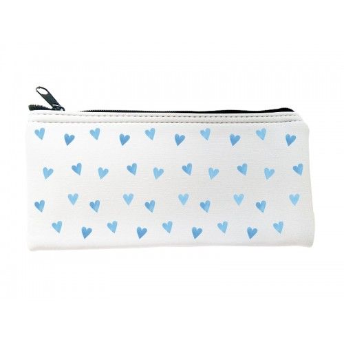 Multipurpose Case Blue Hearts