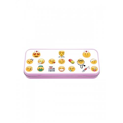 Metal Stationary Case Emoji