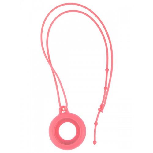Silicone Lanyard Pink