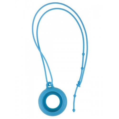 Silicone Lanyard Blue