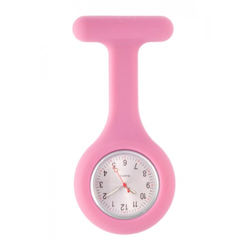 Silicone Nurses Fob Watch Standard Pastel Purple