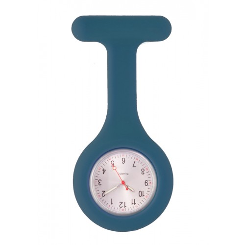 Silicone Nurses Fob Watch Standard Navy Blue