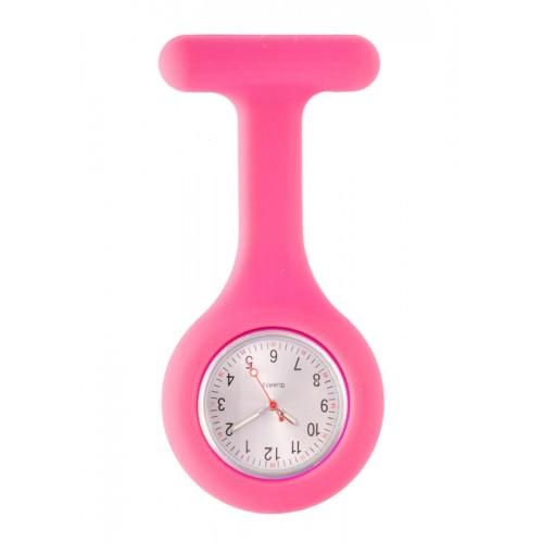 Silicone Nurses Fob Watch Standard Fuchsia