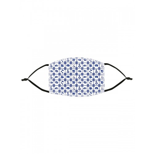 Face Mask Old Blue