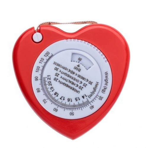 BMI Measurement Tape Heart