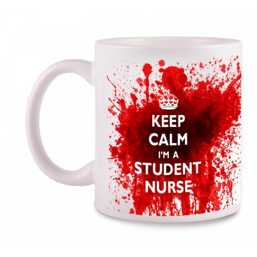 Mug Student Nurse with Name Print